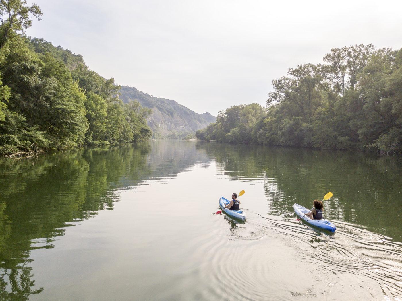 Yelloh Village canoeing