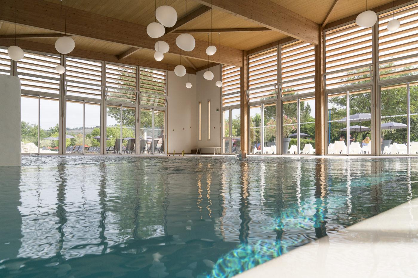 Yelloh Village indoor pools