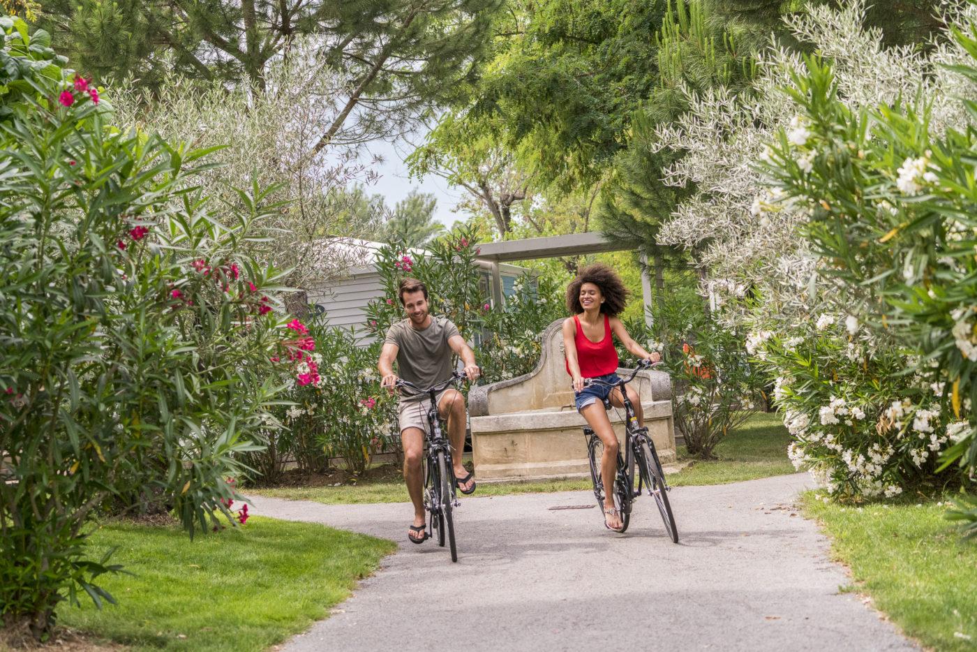 Yelloh Village cycling