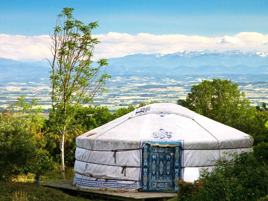 Yelloh Village yurts
