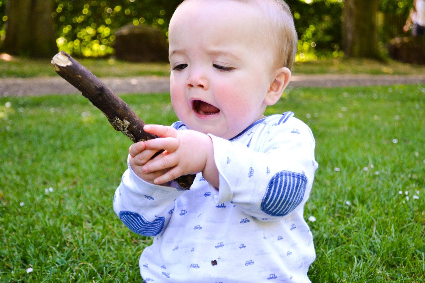 Shouting at sticks