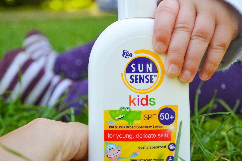 SunSense sunscreen for kids