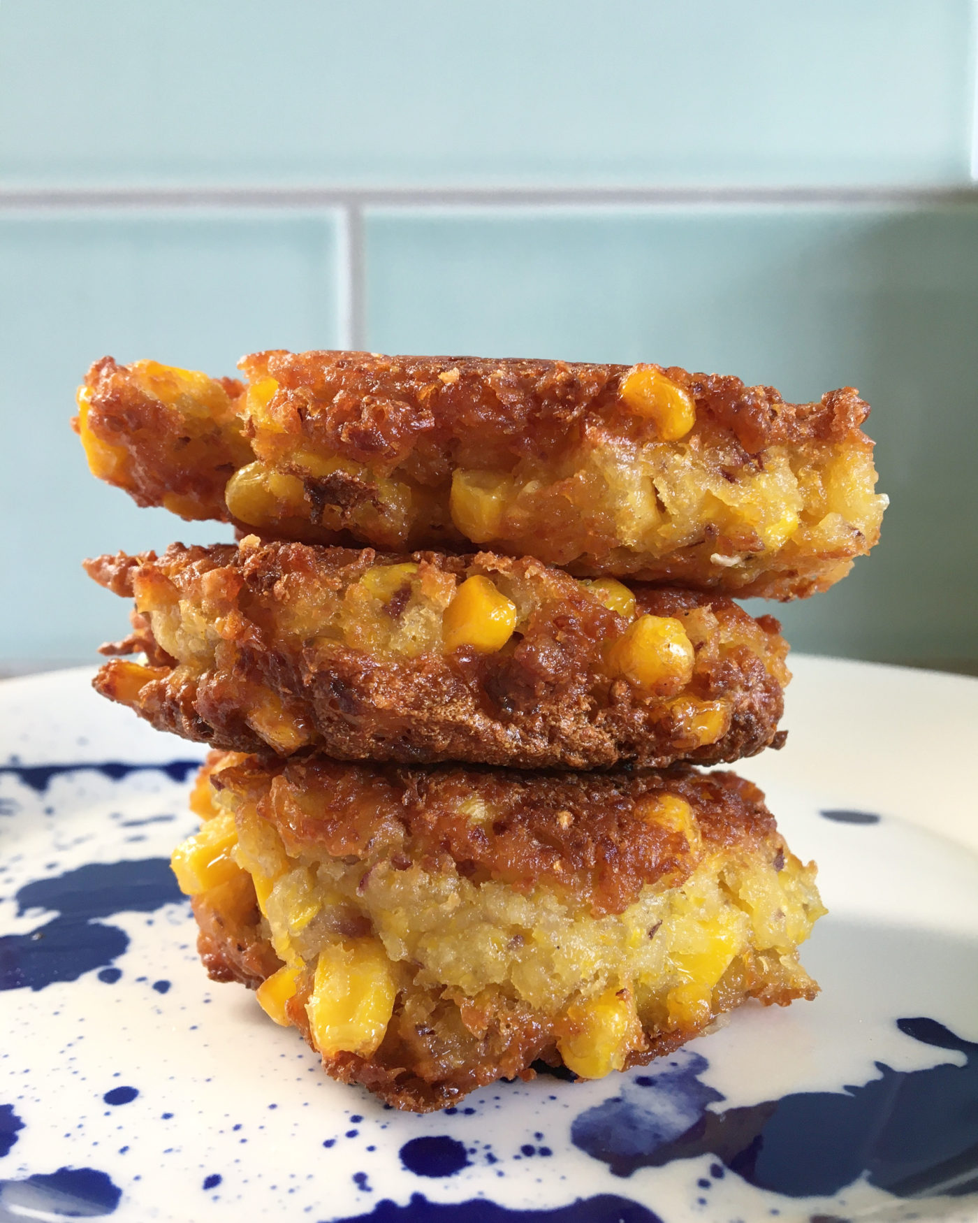 Sweetcorn fritter recipe