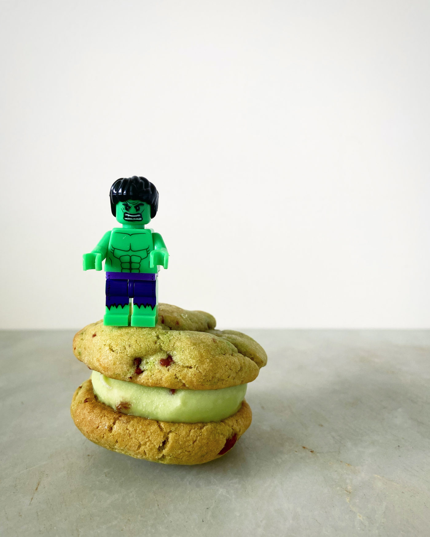 Hulk ice cream sandwich recipe