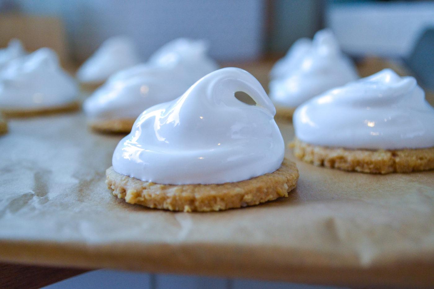homemade marshmallow teacakes