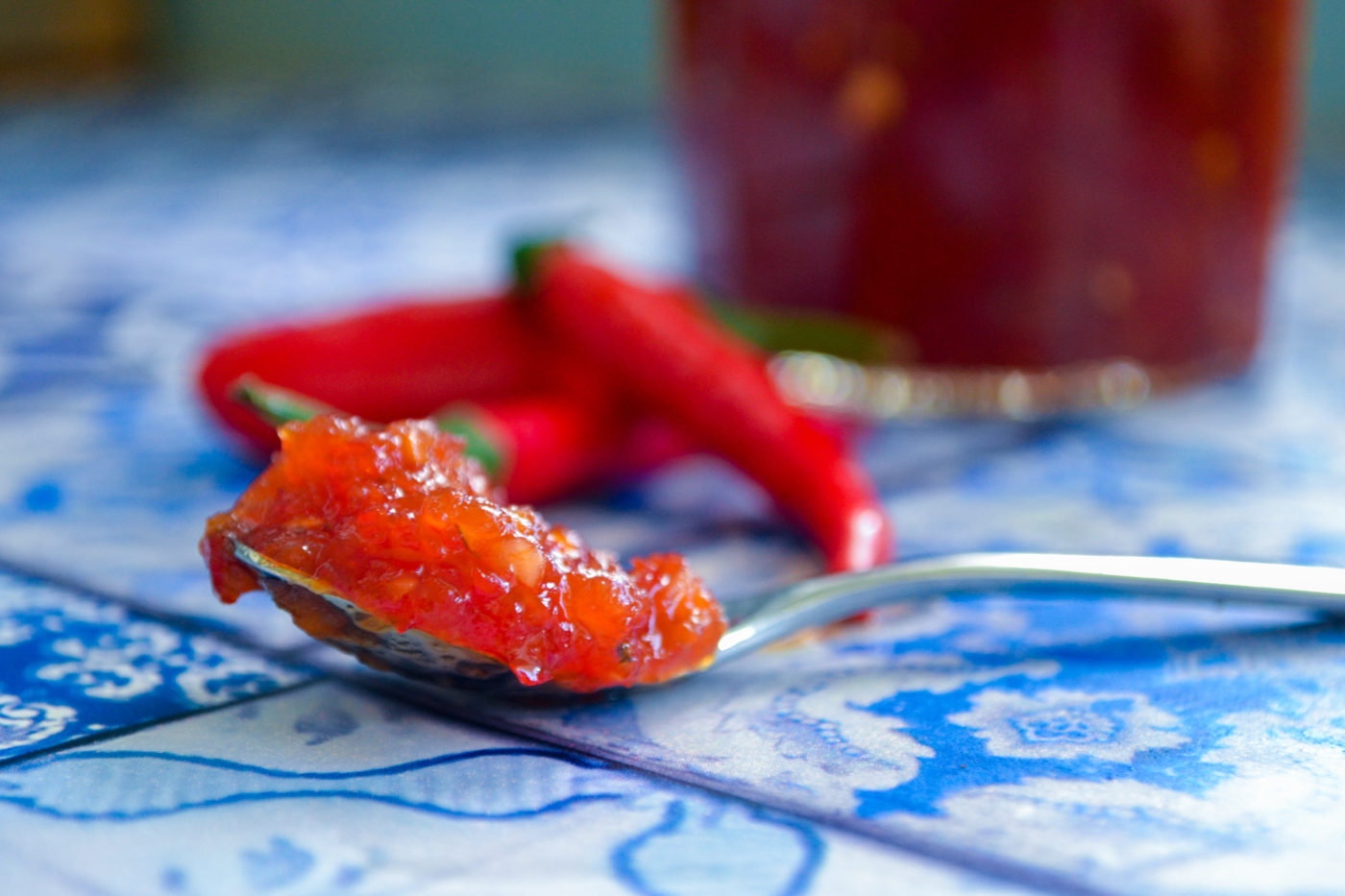Spicy chilli jam recipe