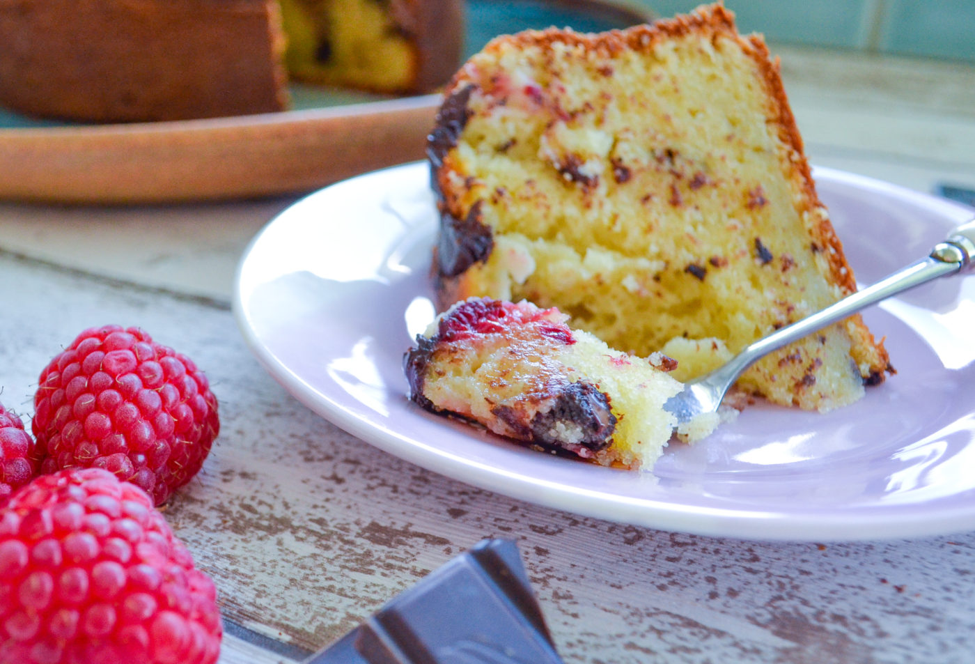 raspberry and chocolate ricotta cake recipe