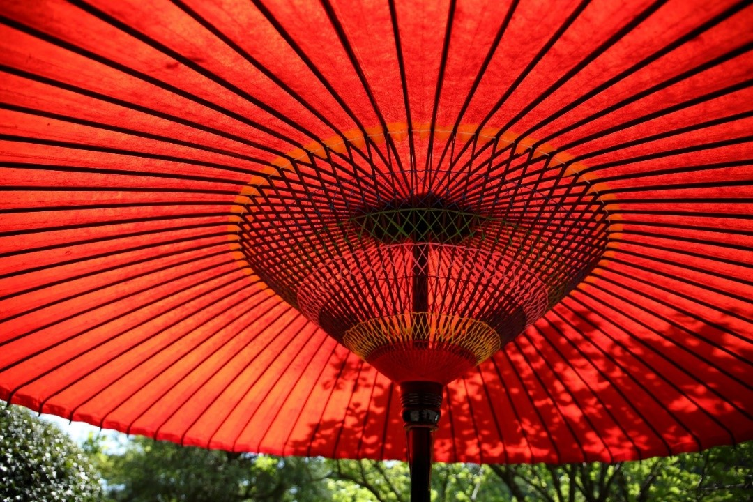 How to create shade in the garden parasol