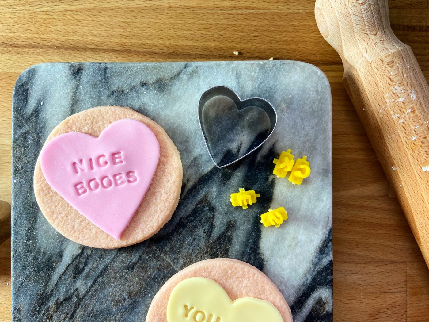 love heart cookie recipe