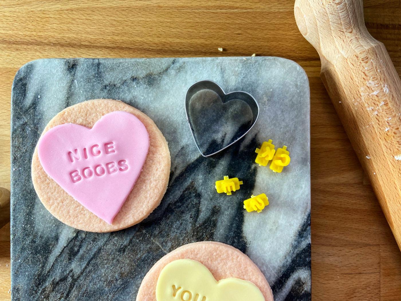 love heart cookie recipe