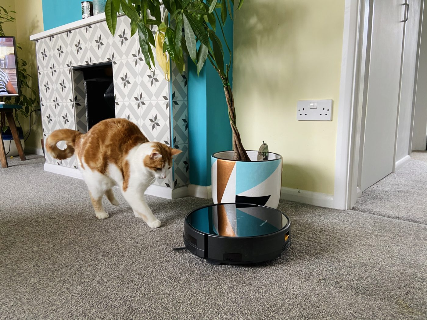 Win a robot vacuum cleaner