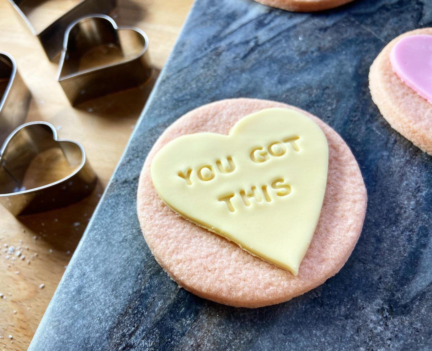 Love heart recipe