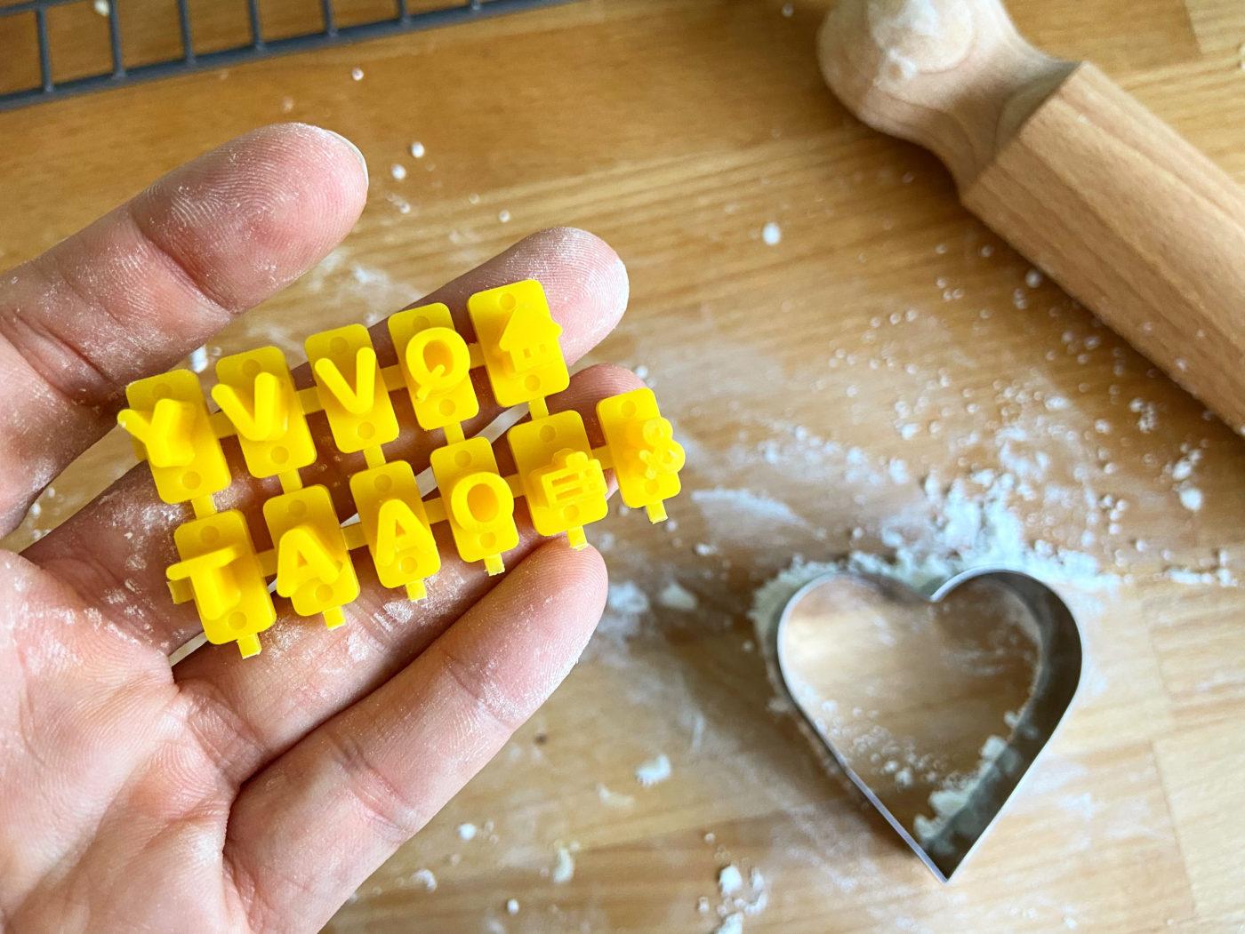 Hobbycraft cookie stamp