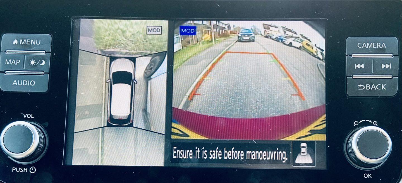 Nissan LEAF parking system