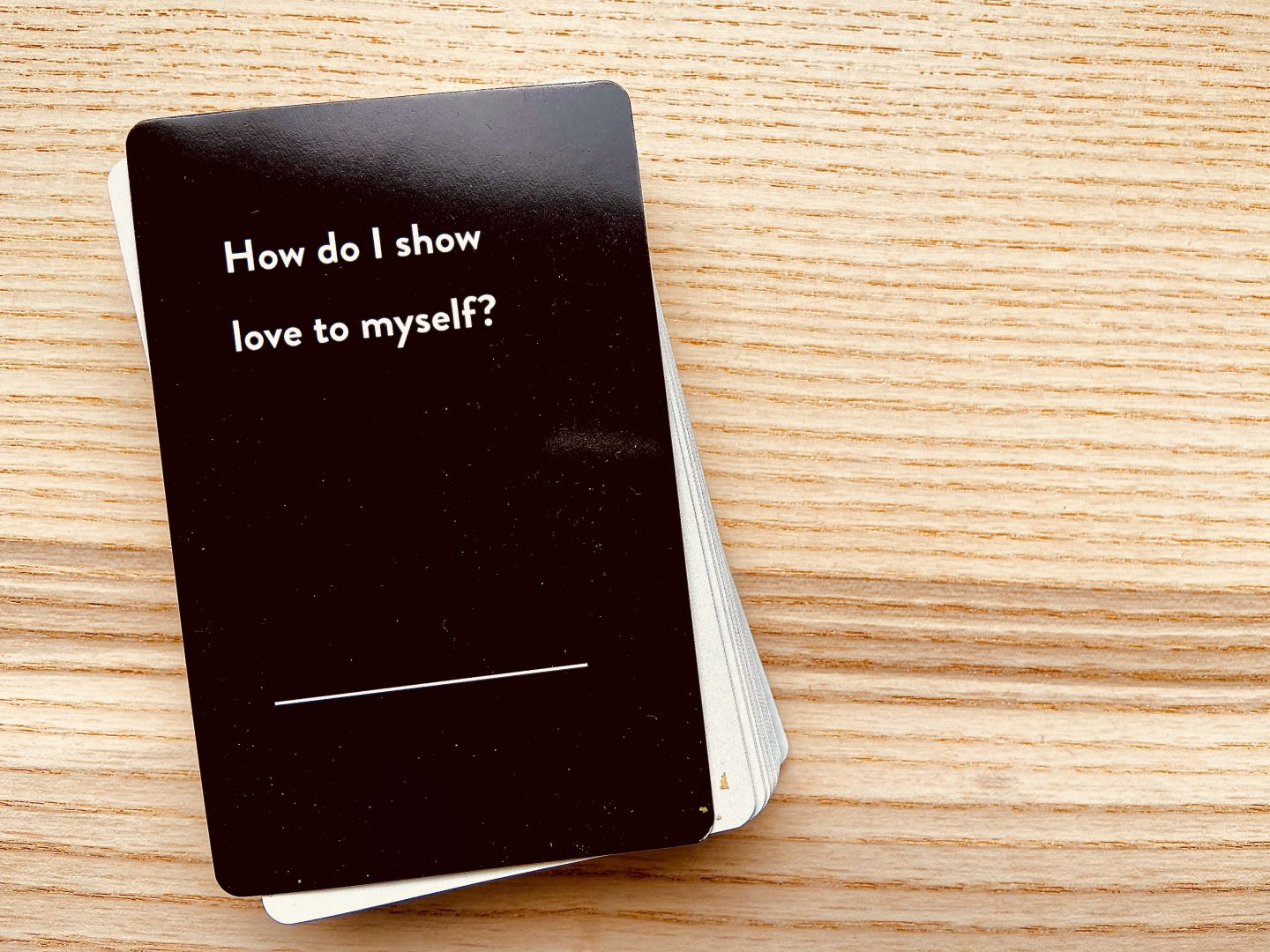 How do I show love to myself?