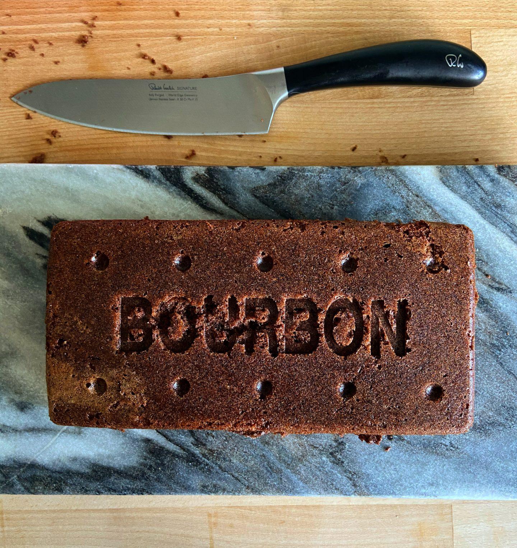 giant bourbon cake