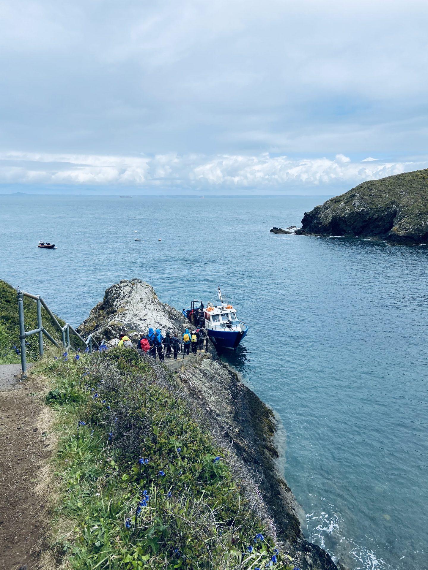 Skomer Island ferry
