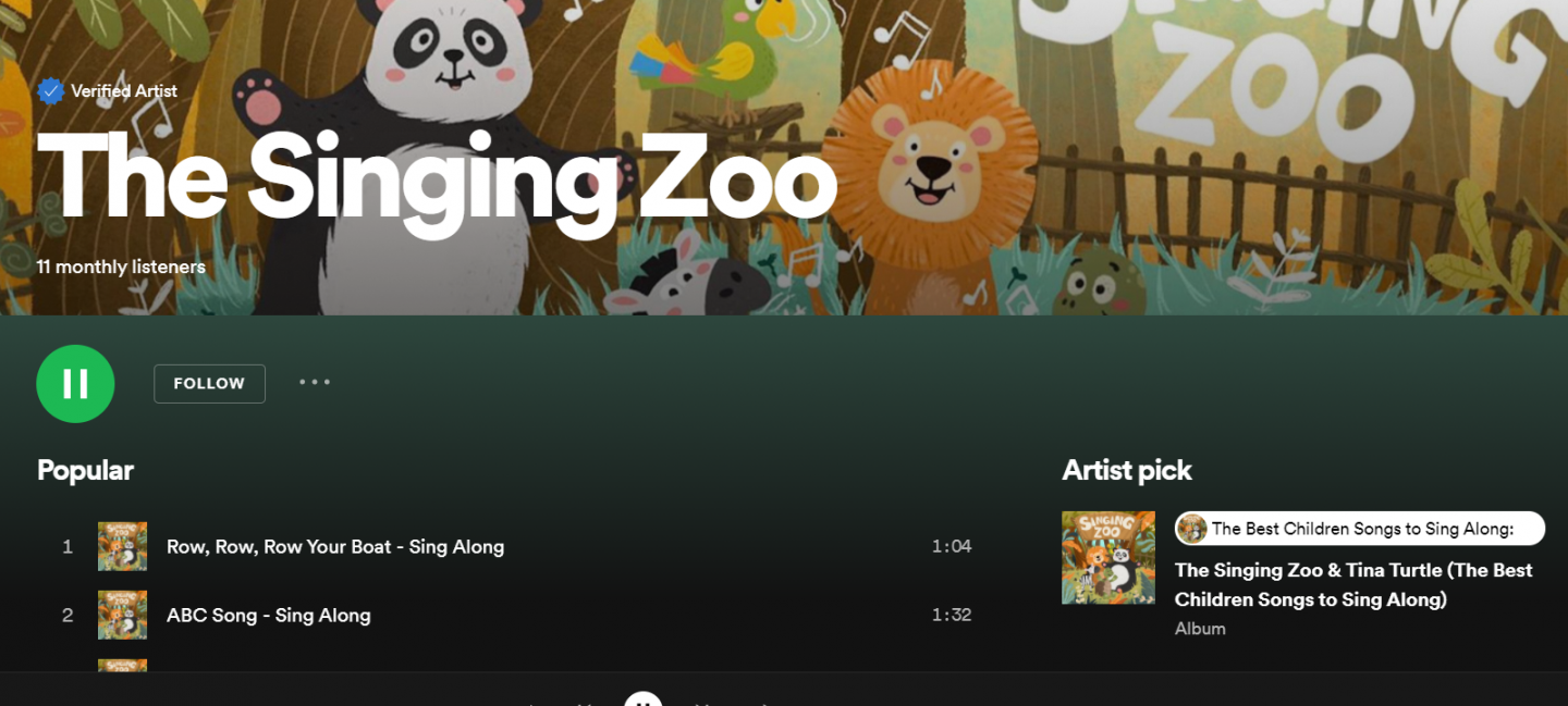 The Singing Zoo