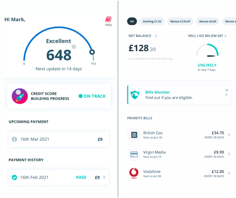 Improve credit score Portify