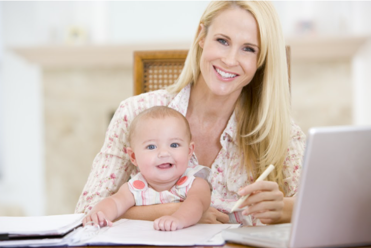 work from home tips for mums